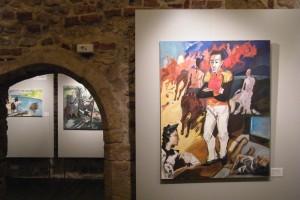 Generał w labiryncie. Ostatnie dni  liberatora Simona Bolivara, olej na płótnie, 120 x 95 cm, 2006 Sabina Woźnica